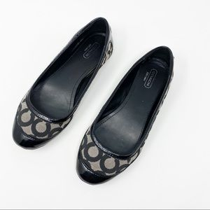 Coach True Ballet Flats Size 7.5